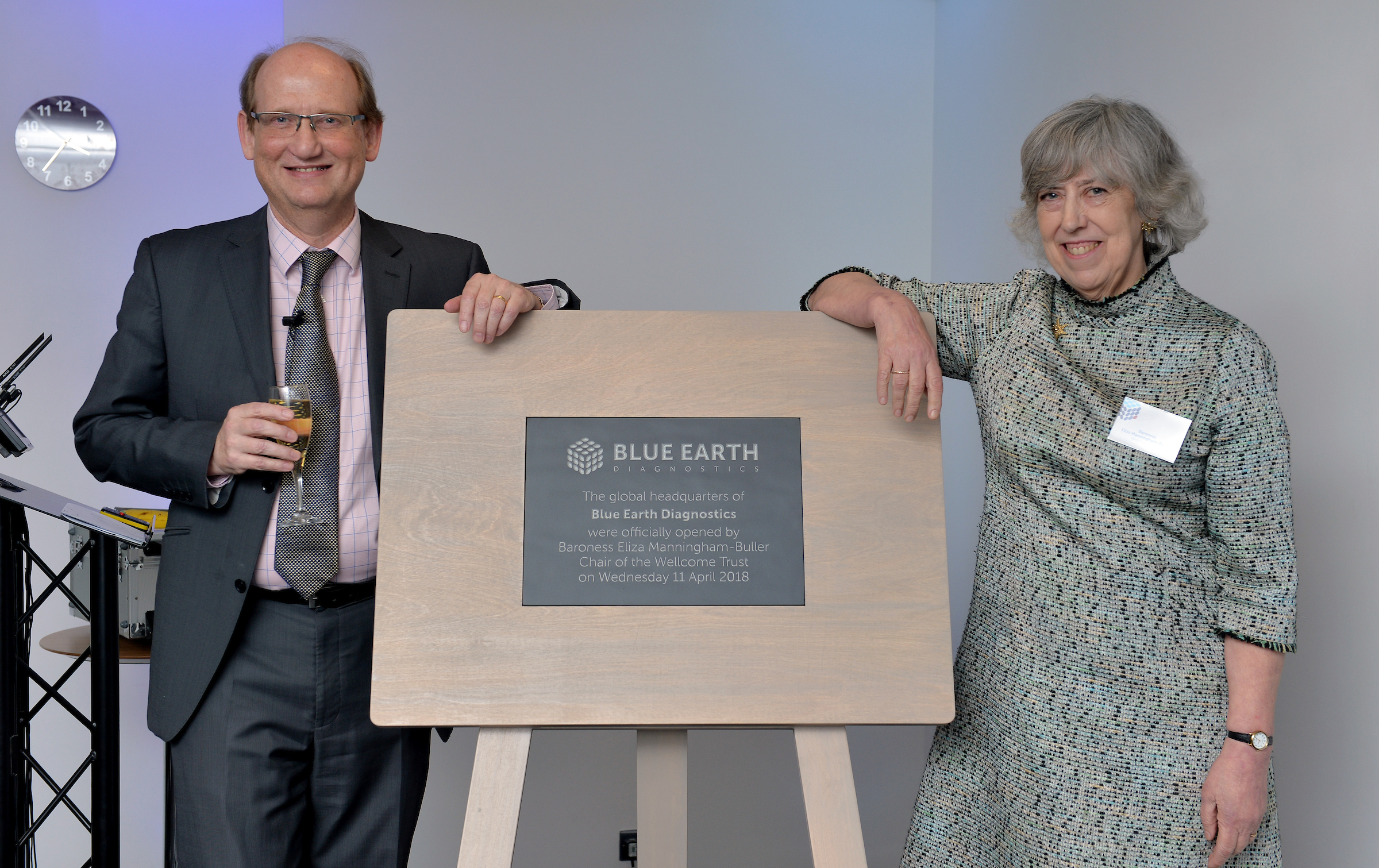 Blue Earth Diagnostics opens new headquarters in Oxford