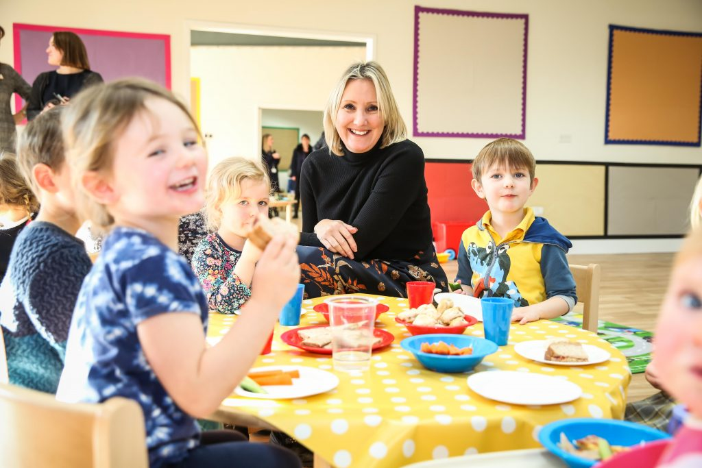 Childcare Minister visits to officially open new day nursery