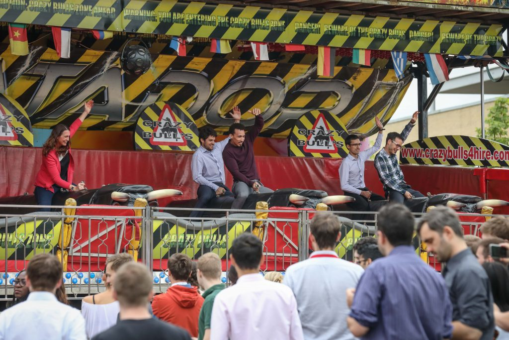 Extreme lunch break as 1,500+ people enjoy Park's summer party