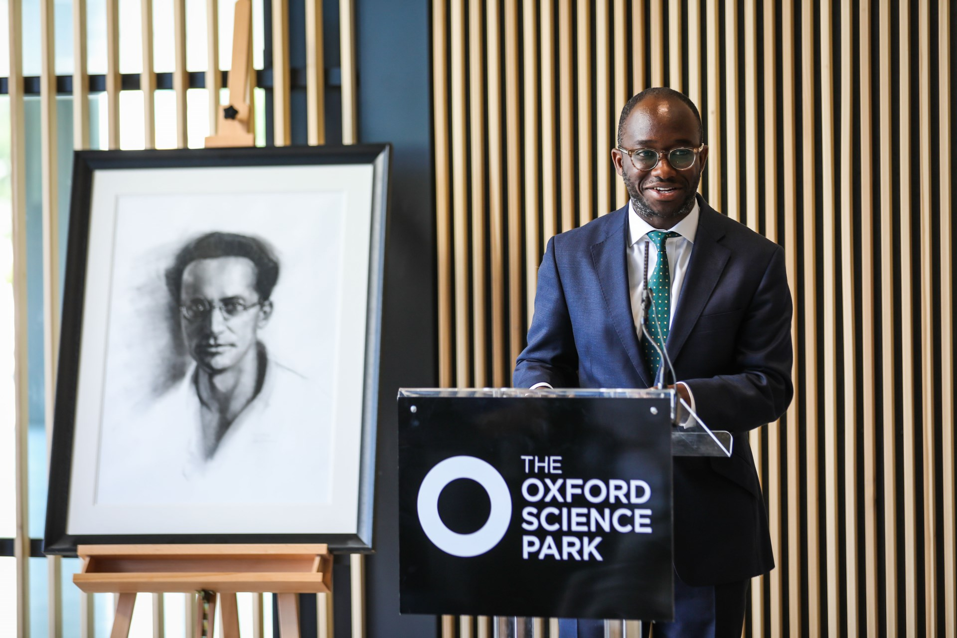 Minister of State Sam Gyimah MP to open Schrödinger Building at The Oxford Science Park