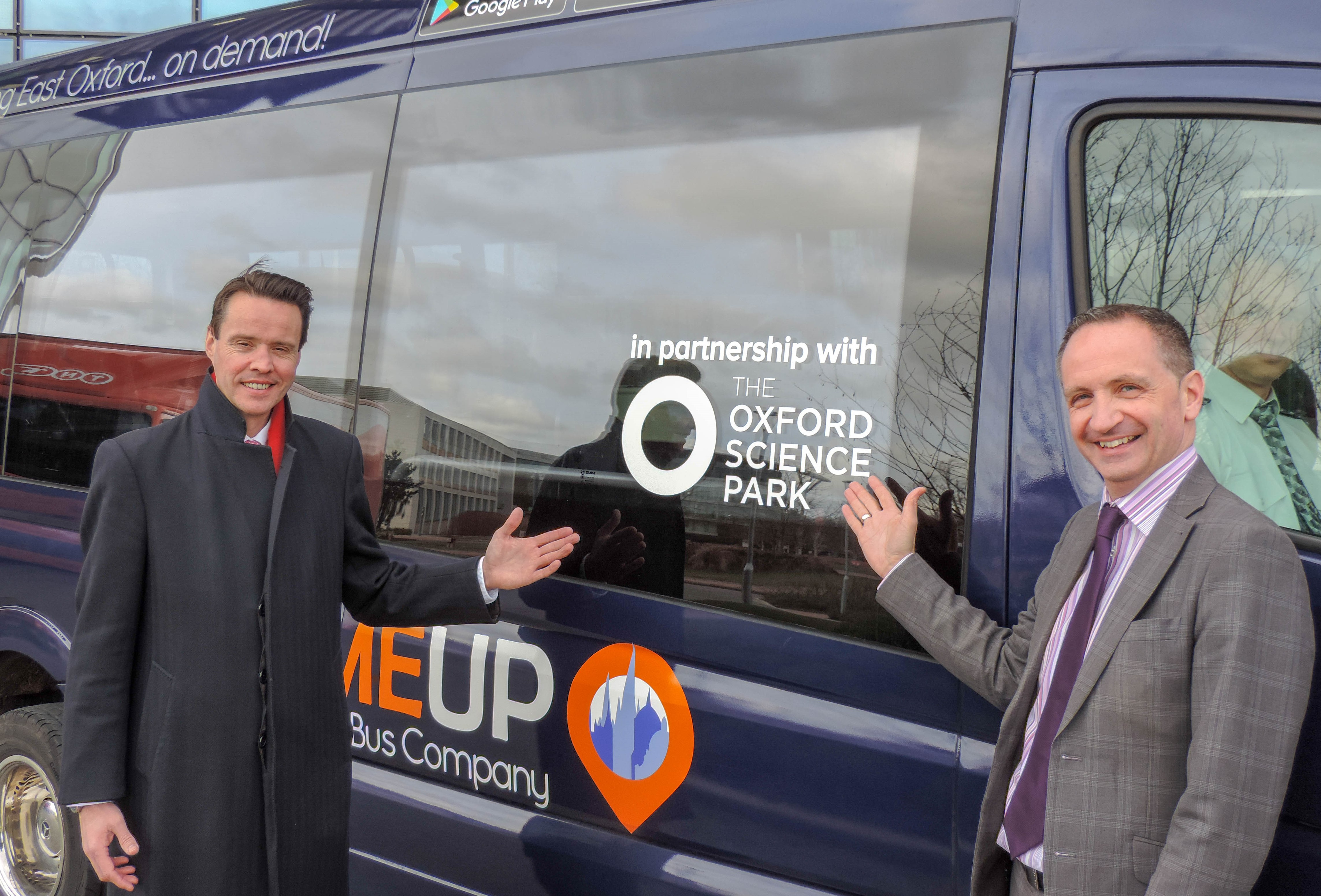 Oxford Bus Company and the Oxford Science Park form partnership as part of joint drive to improve connectivity