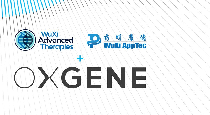 WuXi AppTec Completes Acquisition of OXGENE to Strengthen Cell & Gene Therapy Service Offerings